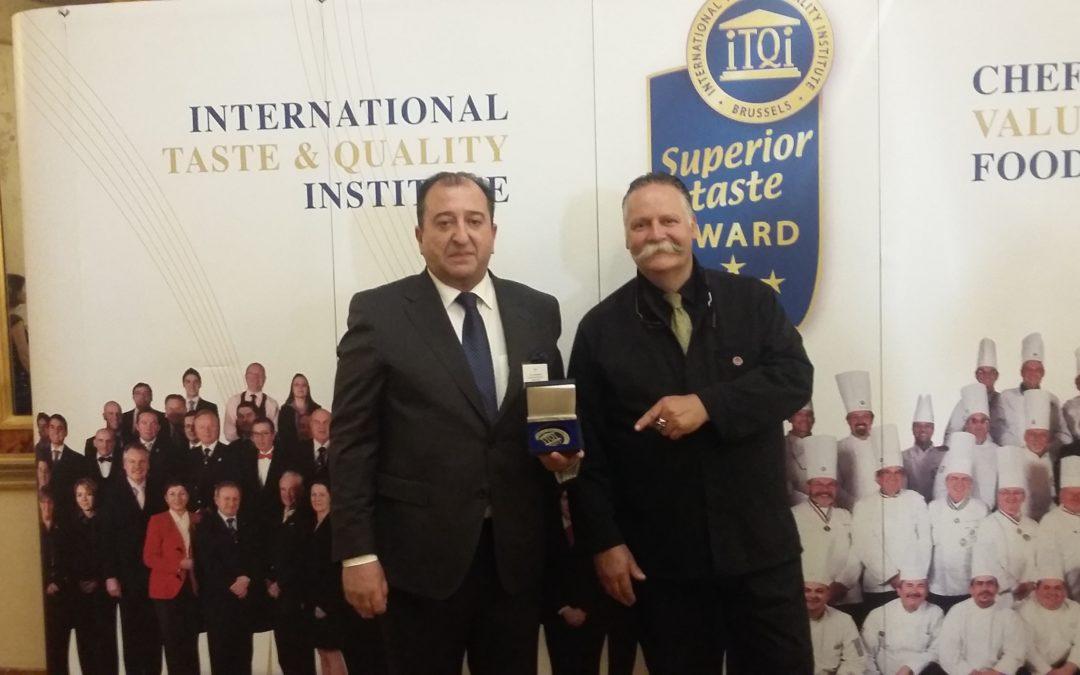 Mondariz recull a Brusel.les els guardons Superior Taste Awards a les seves aigües minerals