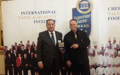 Mondariz recoge en Bruselas los galardones Superior Taste Awards a sus aguas minerales