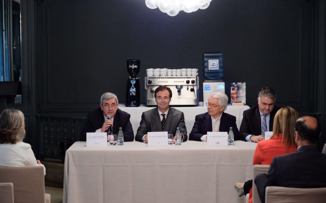 Vichy Catalán i Cafès Cornellà lanzan Water Cube, primer dispositivo para garantizar la excelencia aromàtica del café.