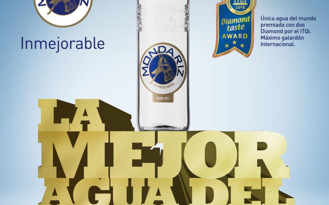 """Aguas de Mondariz vuelve a ganar un nuevo Superior Taste Award del iTQi en una cata a ciegas con cerca de 200 expertos y sigue siendo """"la mejor agua del mundo"""""""