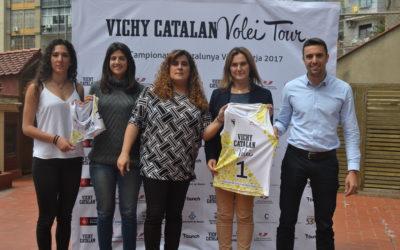Vichy Catalán renova com a patrocinador del Campionat de Catalunya de vòlei platja