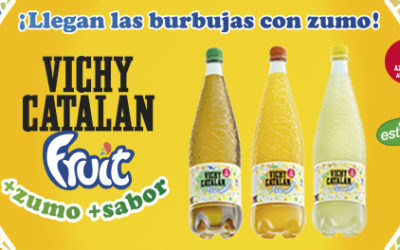 Vichy Catalan Corporation presenta en Barcelona el nuevo Vichy Catalan Fruit: bebida saludable a base de Vichy Catalan y zumo de frutas