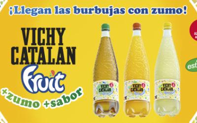 Vichy Catalan Corporation presenta a Barcelona el nou Vichy Catalan Fruit: beguda saludable amb Vichy Catalan i suc de fruites