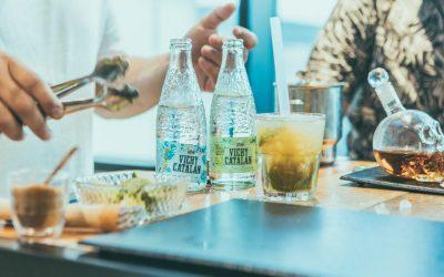 El agua con gas, la gran aliada de la coctelería