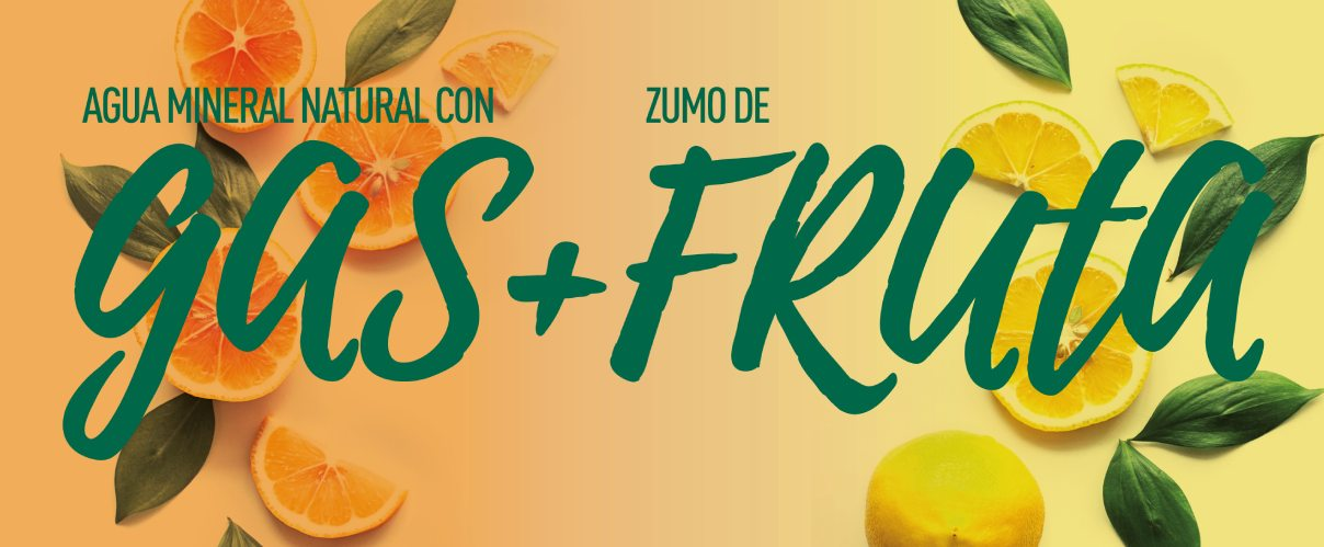 Mondariz BeFruit gas + fruta