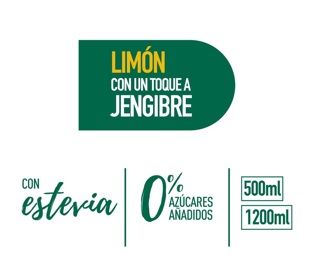 Mondariz BeFruit Limón label